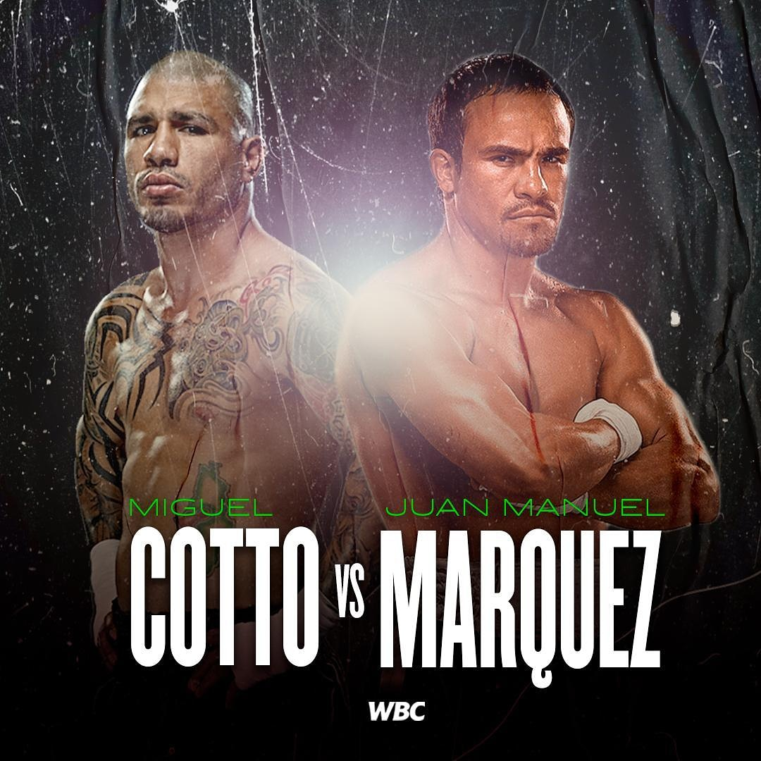 El CMB anuncia pelea entre Miguel Ángel Cotto y Juan Manuel Márquez