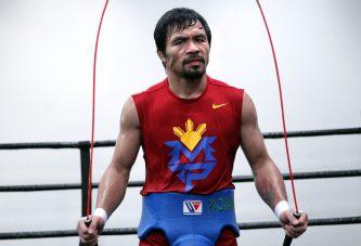 Pacquiao ya arrancó entrenamiento desde Filipinas