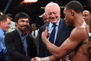 Manny Pacquiao - Errol Spence es la última gran pelea que supuestamente está en proceso