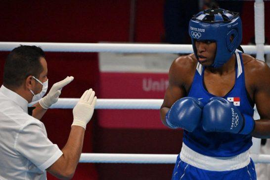 Tokio 2020: Atheyna Bylon cae en cuartos de final ante Lauren Price