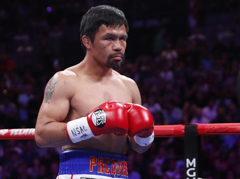 Manny Pacquiao peleará contra Yordenis Ugas en lugar de Errol Spence