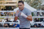 De la Hoya explica que su regreso al boxeo le ha permitido evitar malas rutinas