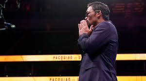 Pacquiao reflexiona sobre retiro del boxeo y planes políticos luego de su derrota