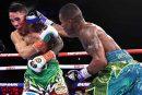 Óscar Valdez retiene título con polémica victoria sobre Robson Conceiçao