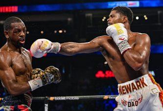 Shakur Stevenson le dio una cátedra de boxeo